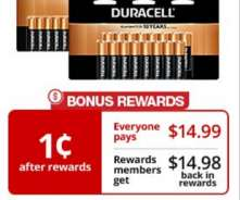 Duracell Batteries ONLY $0.01 At Office Depot OfficeMax (With Rewards)