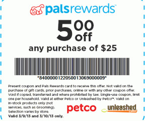 photo about Petco Printable Coupon $10 Off $50 called Petco - Frugal Interest