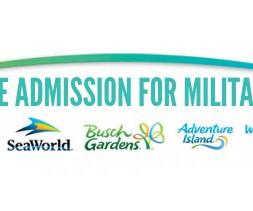 Free Sea World, Busch Gardens U0026 Sesame Place Tickets For Military Home Design Ideas