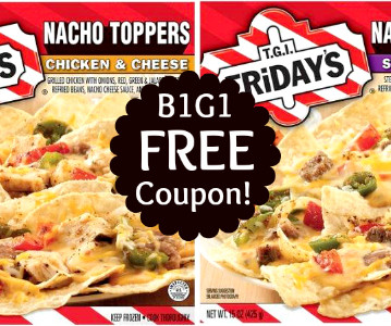 graphic about Fridays Printable Coupons identify Tgif frozen foods discount codes / Absa laptop or computer promotions