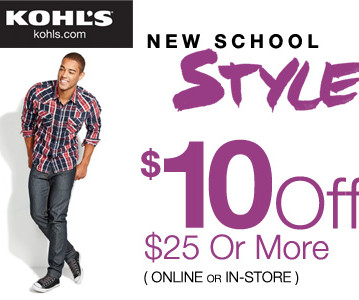 Coupon code frugal focus kohls coupon code 10 off 25 purchase fandeluxe Image collections