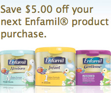picture about Enfamil Printable Coupons $10 titled Discount coupons and Enfamil - Frugal Notice