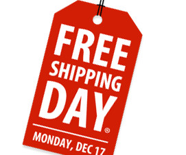 34e32479e FREE Shipping Day: Over 1,000 Online Merchants Offering Free Last-Minute  Christmas Shipping!