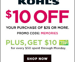 Coupon codes frugal focus kohls memorial day weekend coupon codes fandeluxe Choice Image