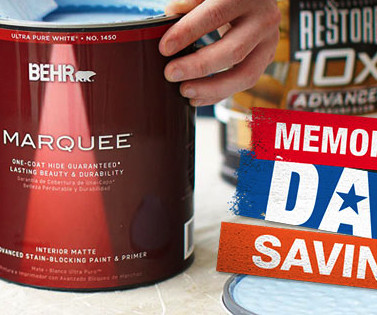 Home improvement frugal focus memorial day sale at home depot 5 off 50 free shipping fandeluxe Choice Image