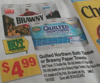 picture regarding Brawny Printable Coupons called Brawny paper towels coupon : Tigerdirect company business office