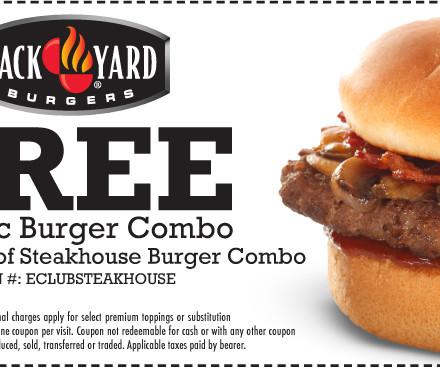 Backyard burger coupons